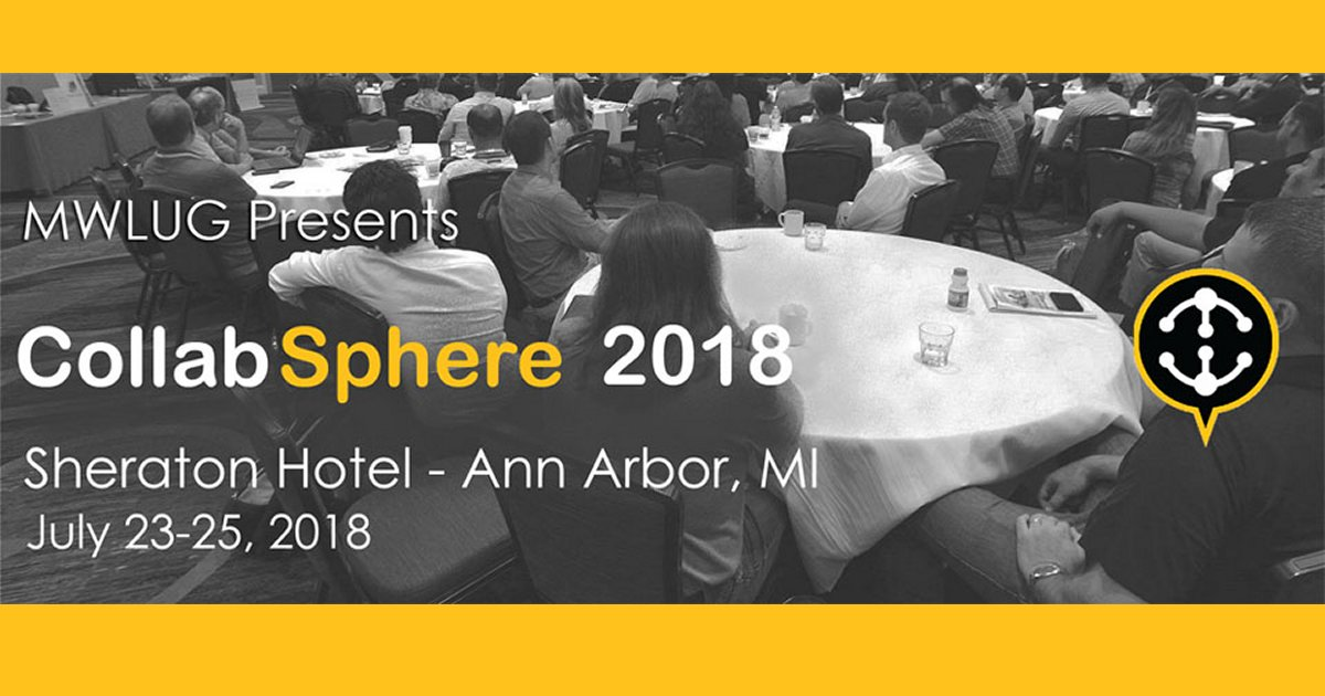 Collabsphere (MWLUG) 2018