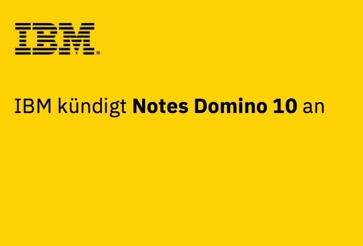 Weltpremiere IBM Domino 10 in Frankfurt am Main